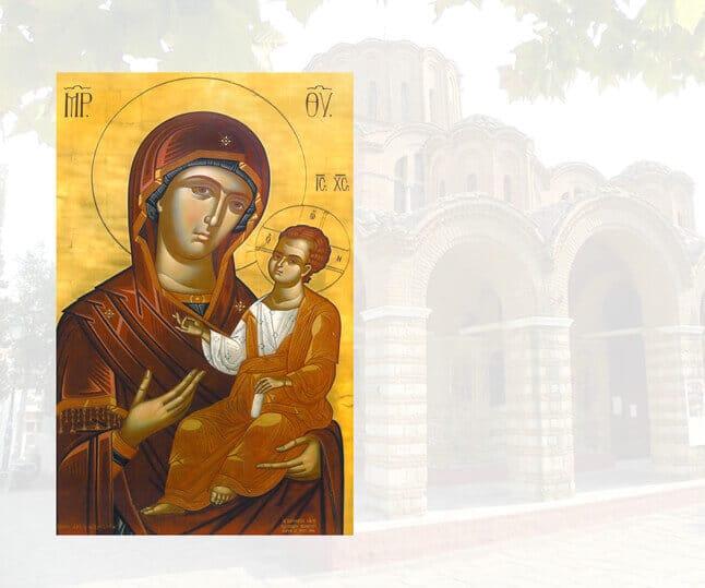Θεού Ι.Ν. Προφ. Ηλιού Θεσσαλονίκης έργο Παχωμαίων