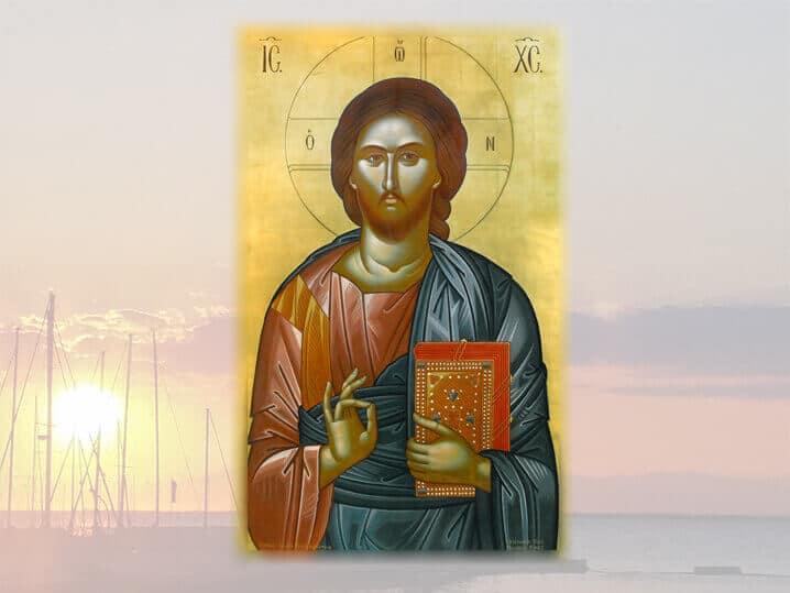 ΧΣ εικόνα τέμπλου Ι.Ν. Προφ. Ηλιού Θεσσαλονίκης έργο Παχωμαίων